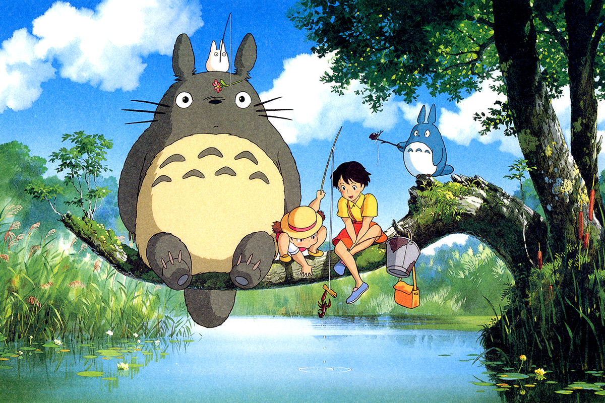 My Neighbor Totoro, copyright Studio Ghibli