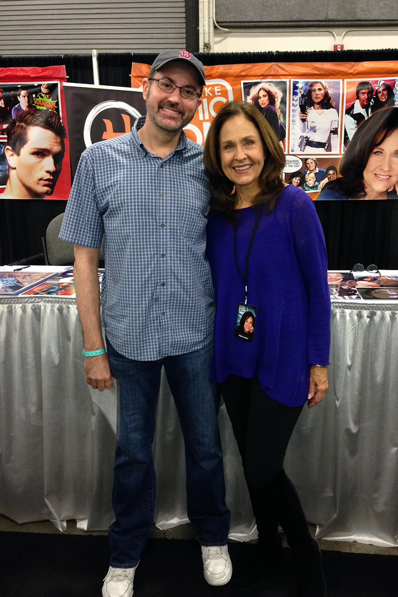 Me and Erin Gray