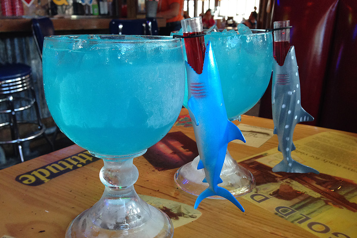 Joe's Crab Shack Shark Bite Drink