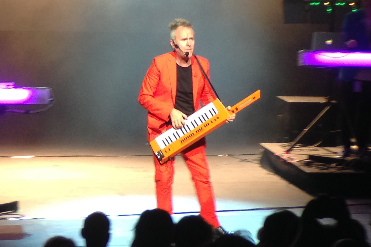 Howard Jones Retro Futura Tour 2014