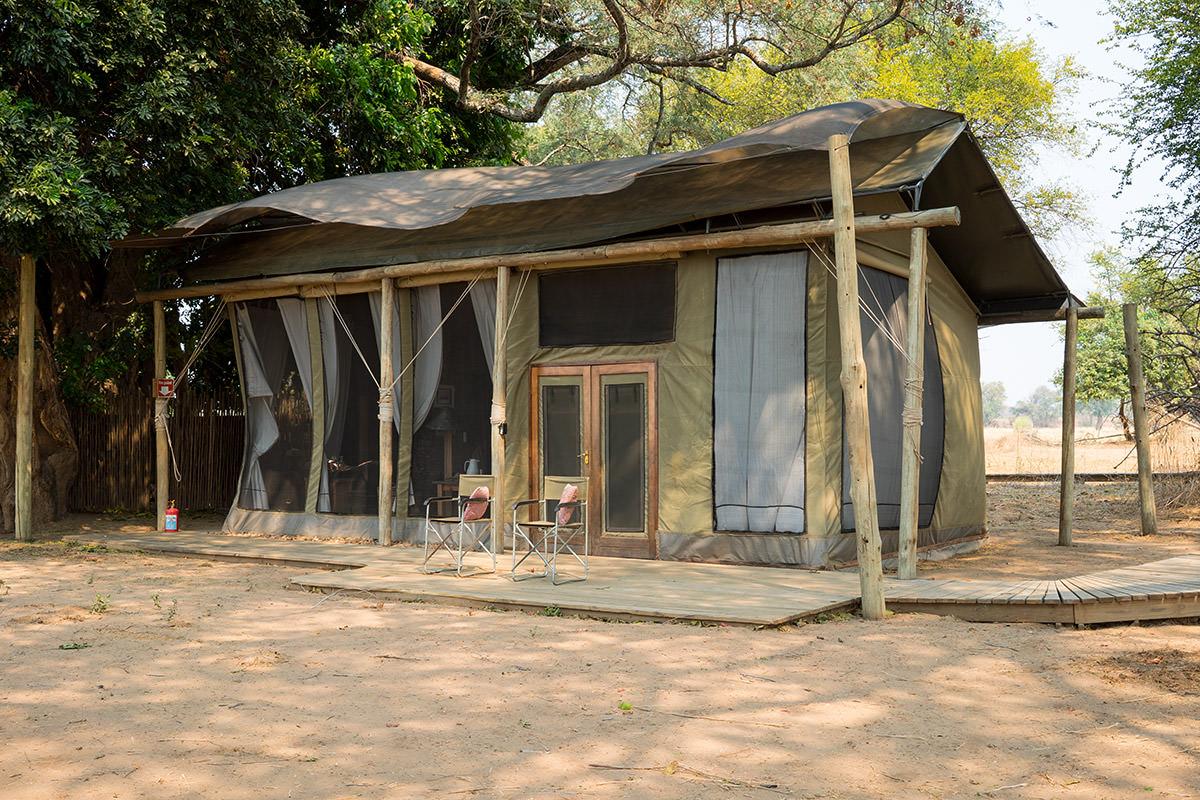 Ruckomechi Camp Tent