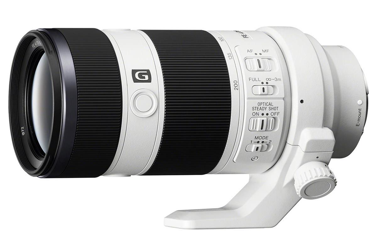 Sony FE 70-200 Lens Test: Mountains Closeup