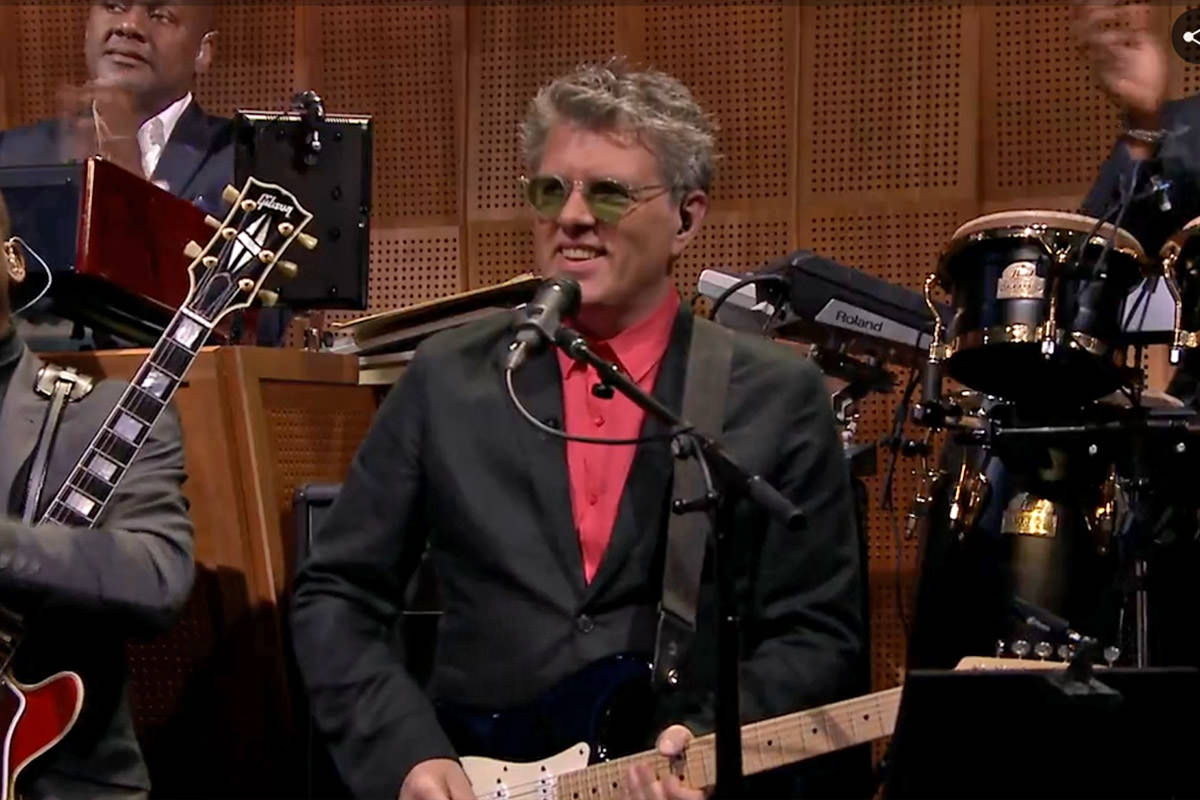 Tom Bailey on Jimmy Fallon's Tonight Show