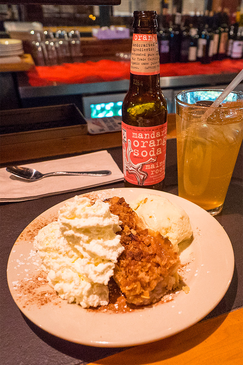 Portland Flatbread Company Apple Crisp