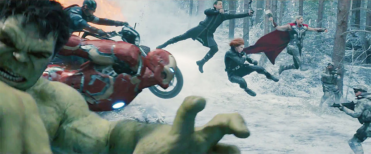 Avengers Age of Ultron: AVENGERS ATTACK!