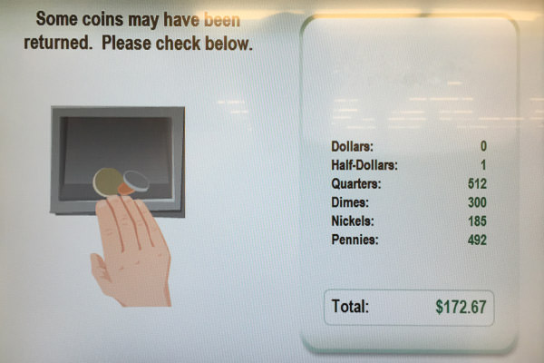 Coinstar Machine!