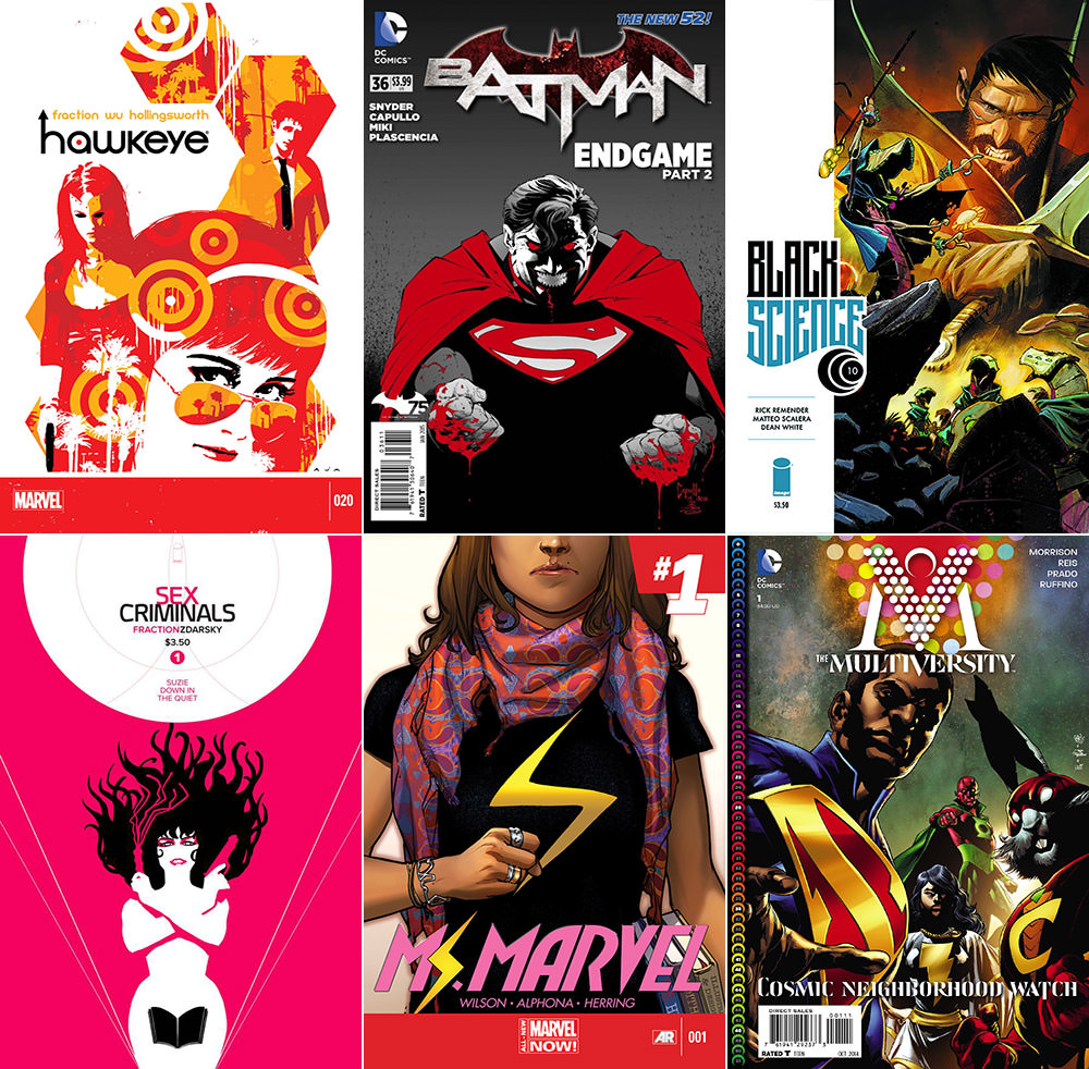 Best Comics 2014 Part 1