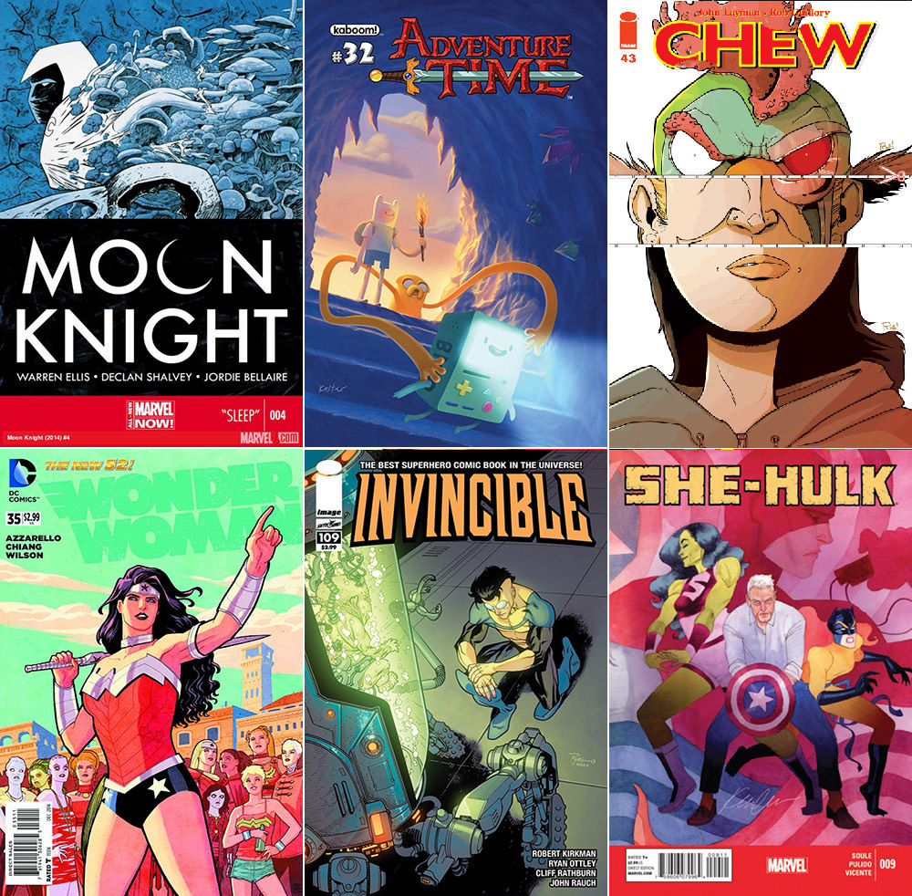 Best Comics 2014 Part 2