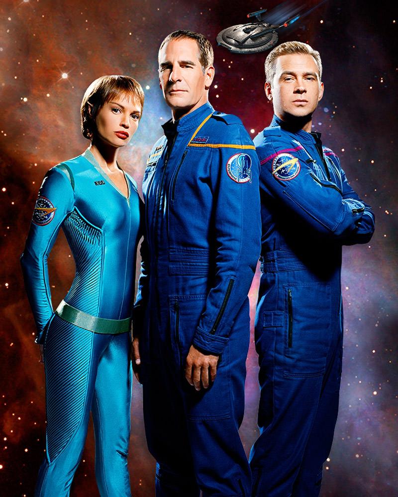 Star Trek Enterprise Trio