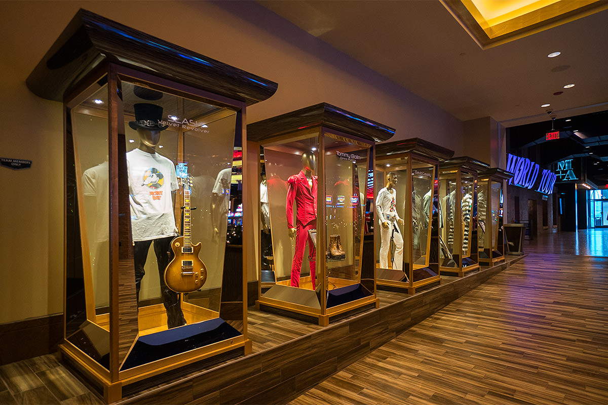 Hard Rock Hotel & Casino Sioux City Memorabilia