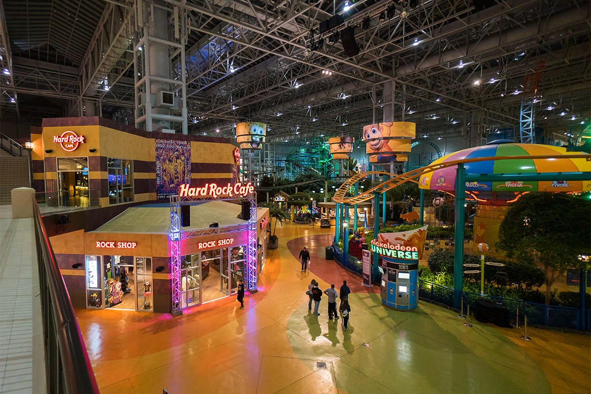 Hard Rock Cafe Mall of America at Minneapolis.