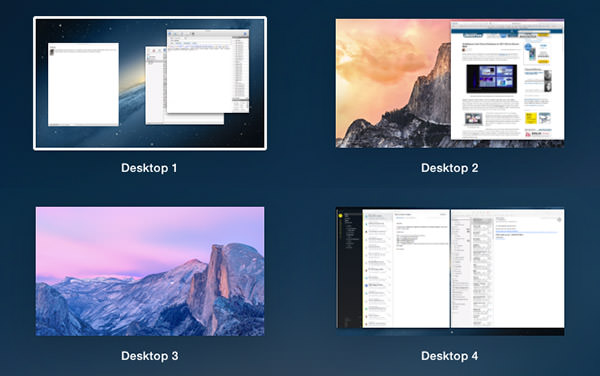 Mac OS X Spaces