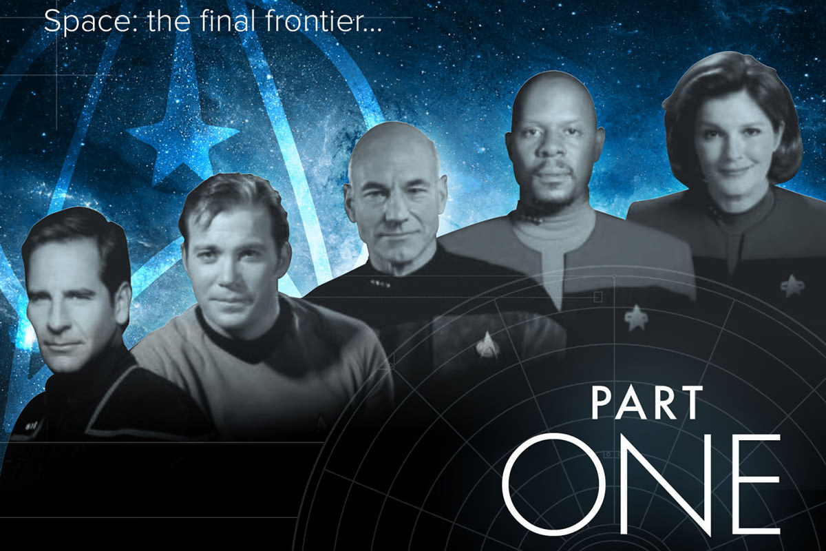 Star Trek Graphic Compiled by Playboy