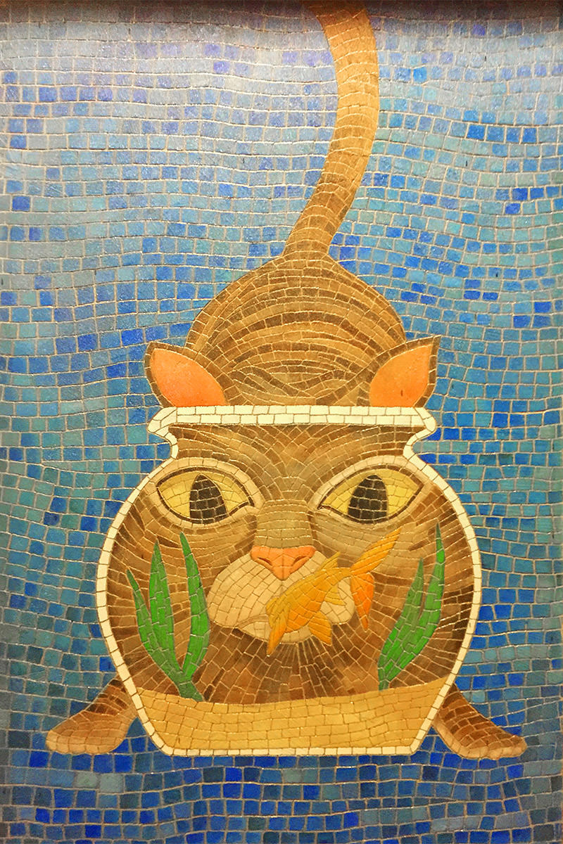 Kitty Mosaic