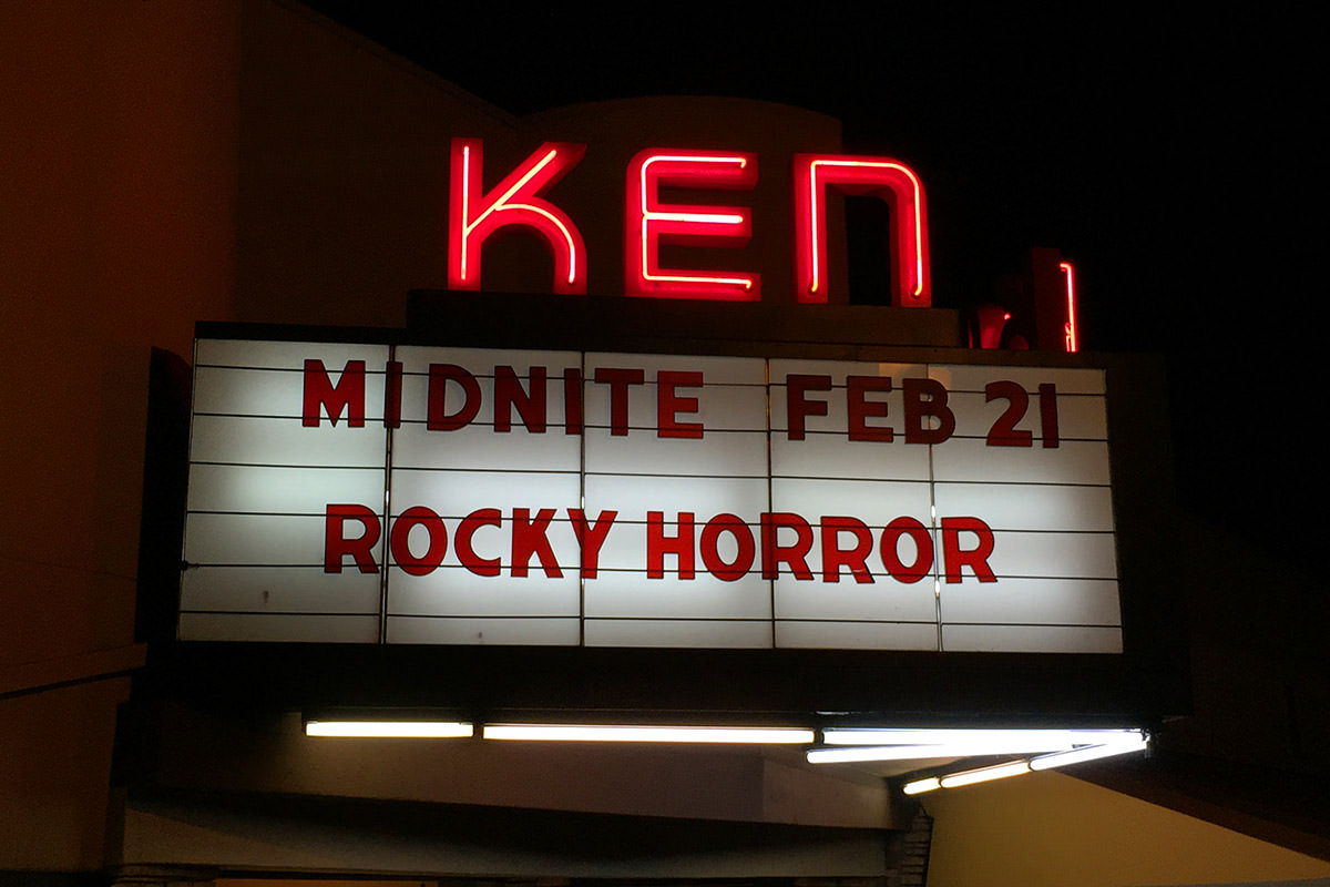 San Diego Kensington Theater Rocky Horror Picture Show at Midnite!