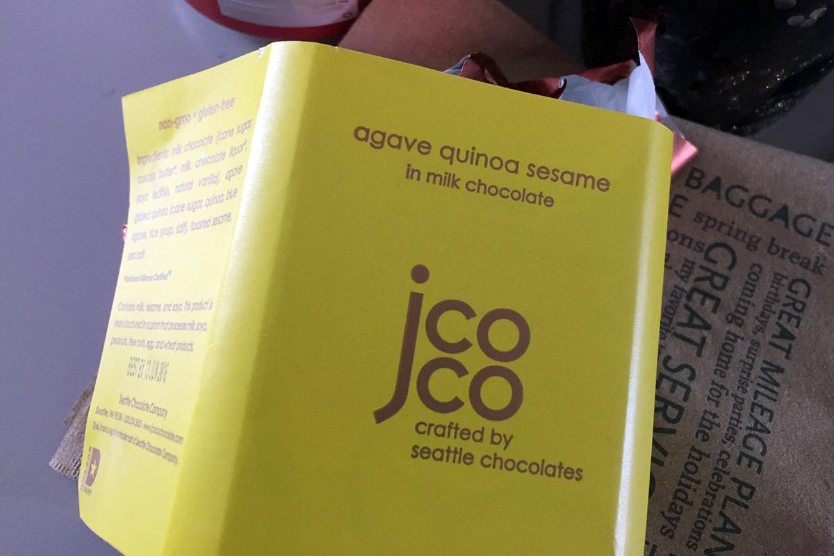 Agave Quinoa Sesame Chocolate?