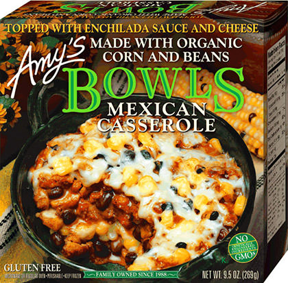 Amy's Mexican Bowls Casserole