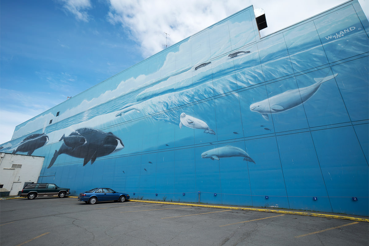 Wyland Anchorage Waling Wall