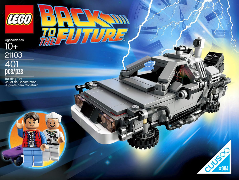 Back To The Future LEGO!