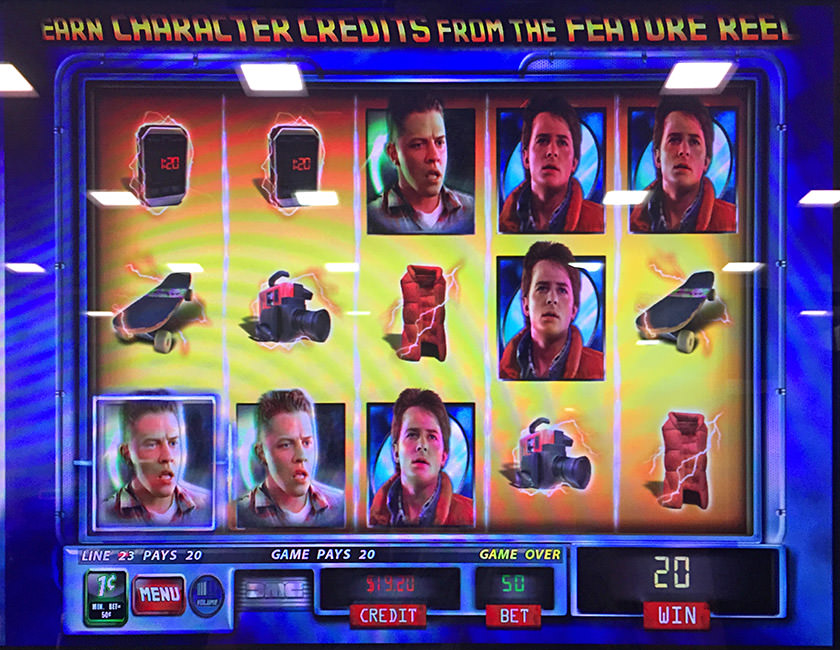Back to the Future... THE SLOT MACHINE!