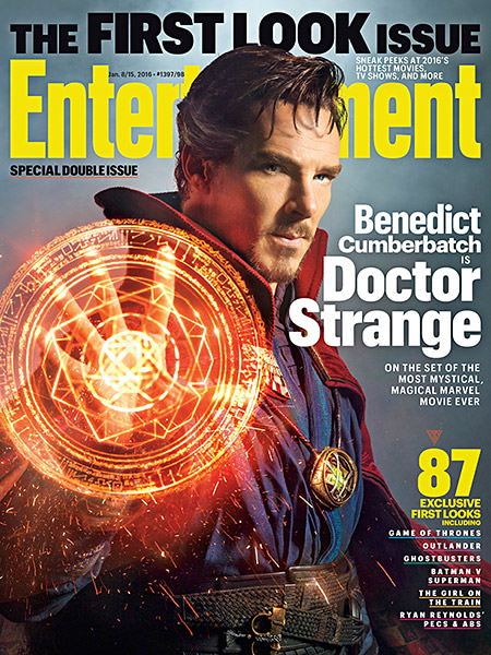 Doctor Strange on Entertainment Weekly