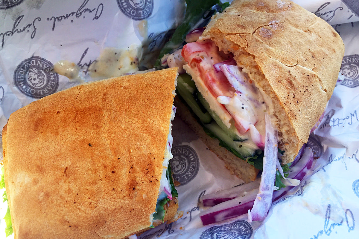 Earl of Sandwich Downtown Disney!