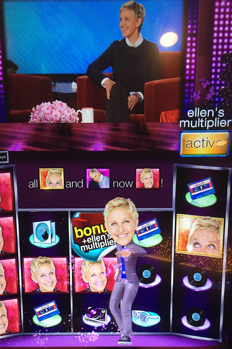 Ellen DeGeneres Show Slot Machine
