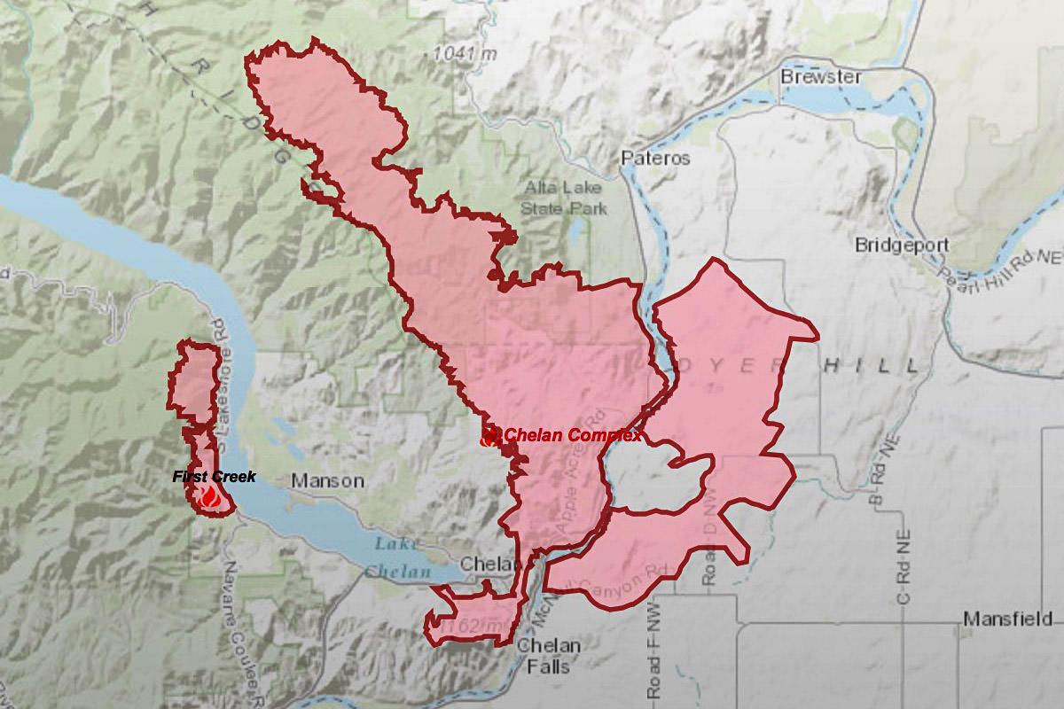 Chelan Fire Map