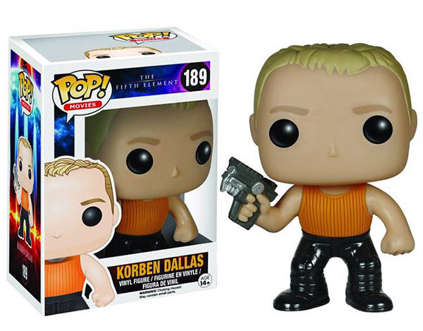 Funko POP! Fifth Element Figures