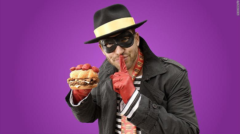 Hamburglar McDonalds 2015