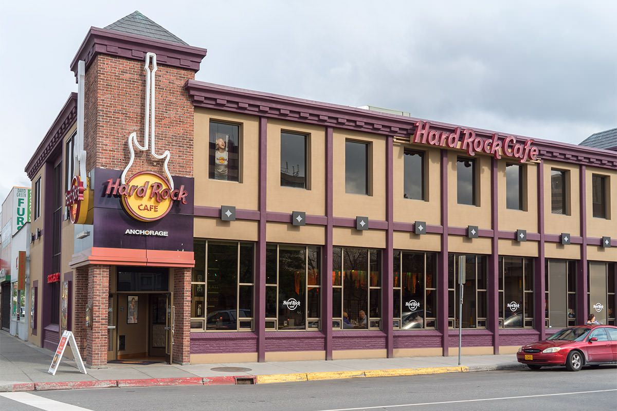 Hard Rock Cafe Anchorage, Alaska
