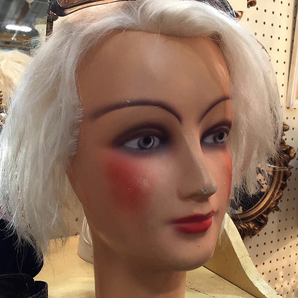 Creepy Head Mannequins