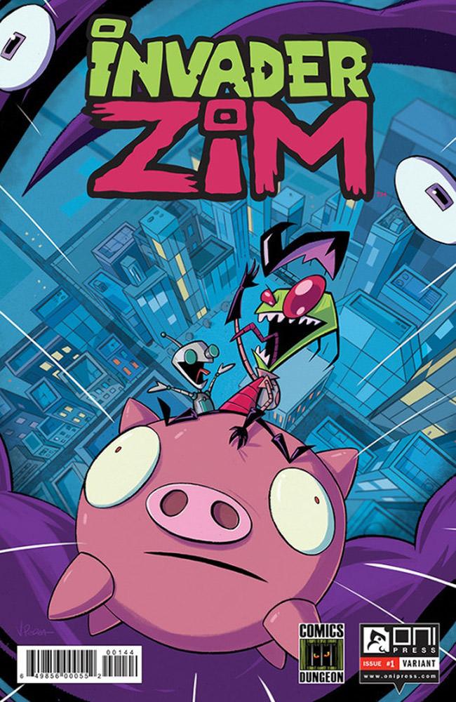 Invader Zim No. 1