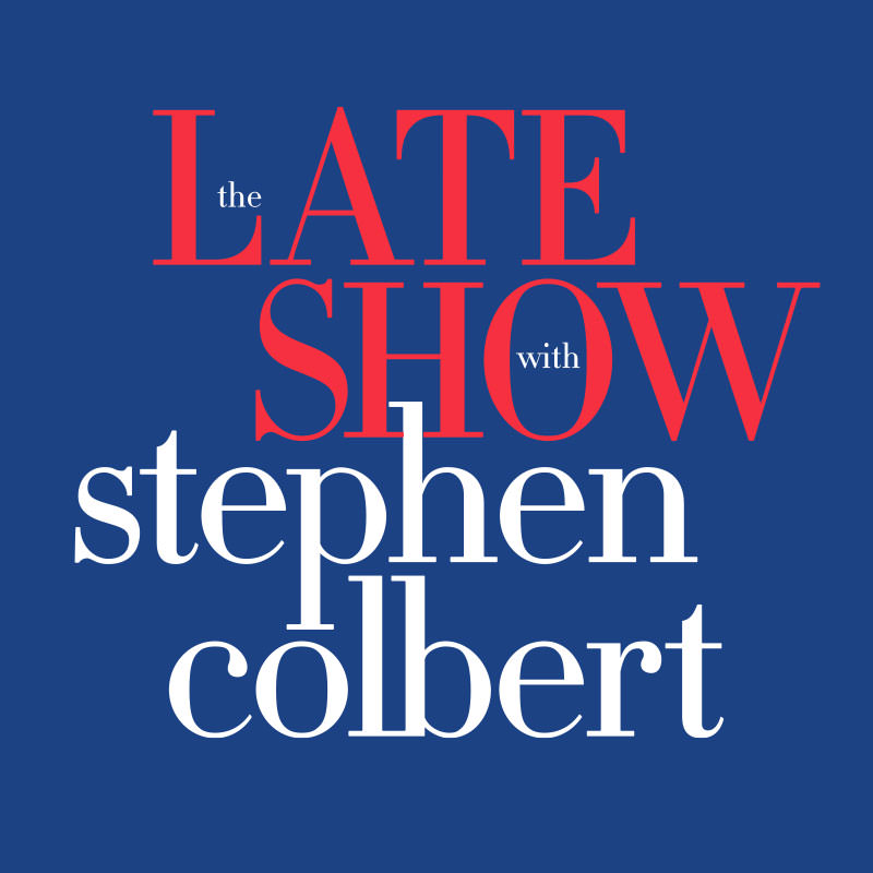 Logo for The Late Show with Stephen Colbert
