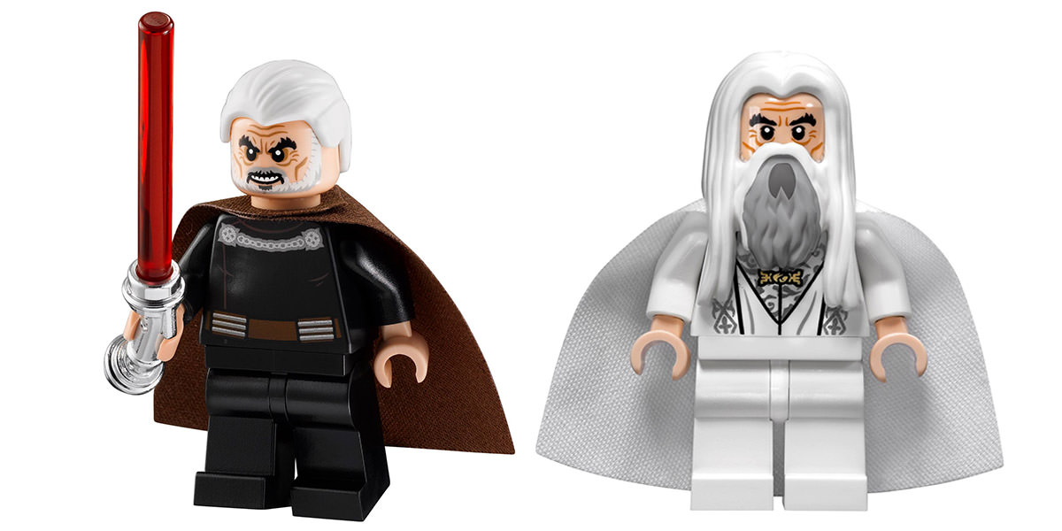 Christopher Lee as LEGO