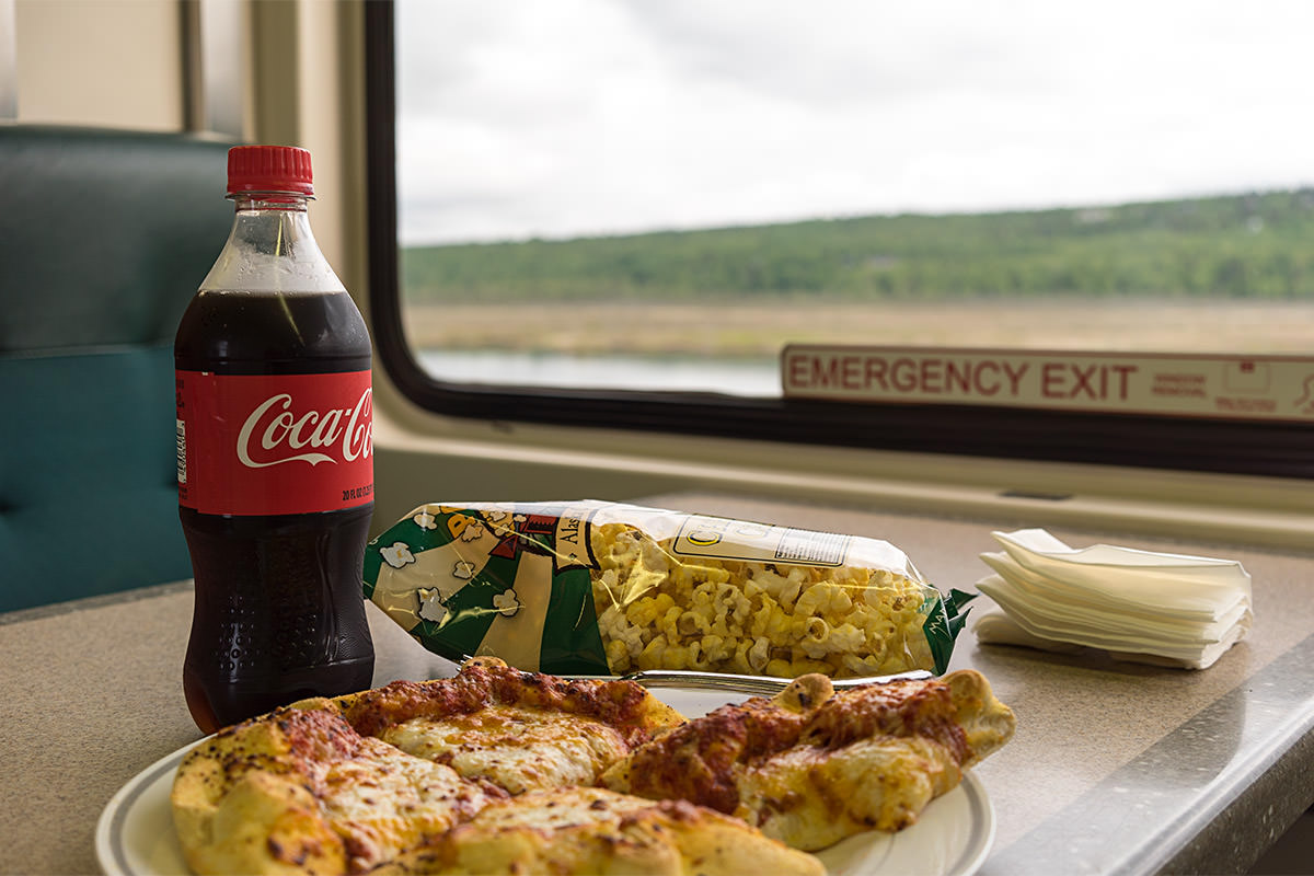 Train Pizza