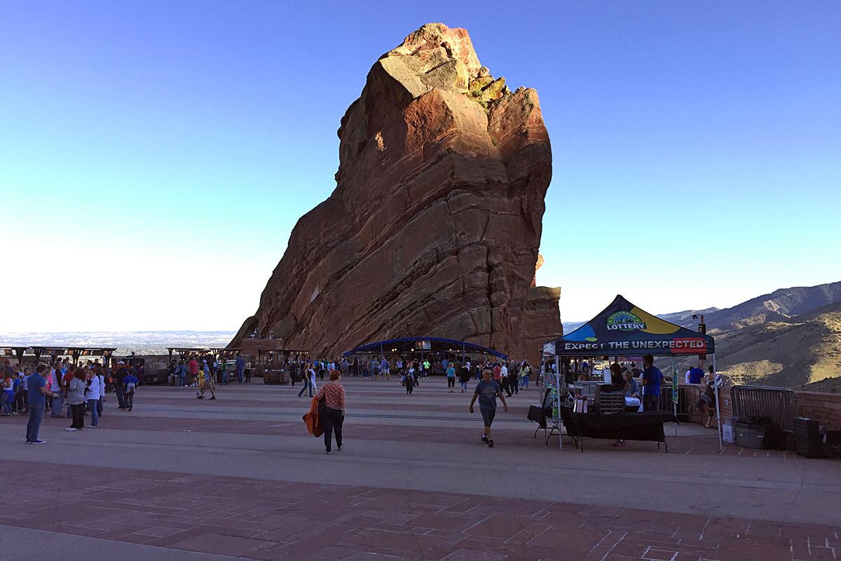 Red Rocks Amphitheater!
