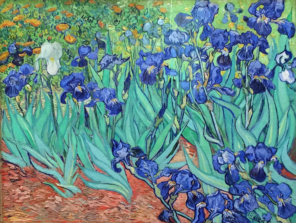 The Getty Los Angeles Van Gogh