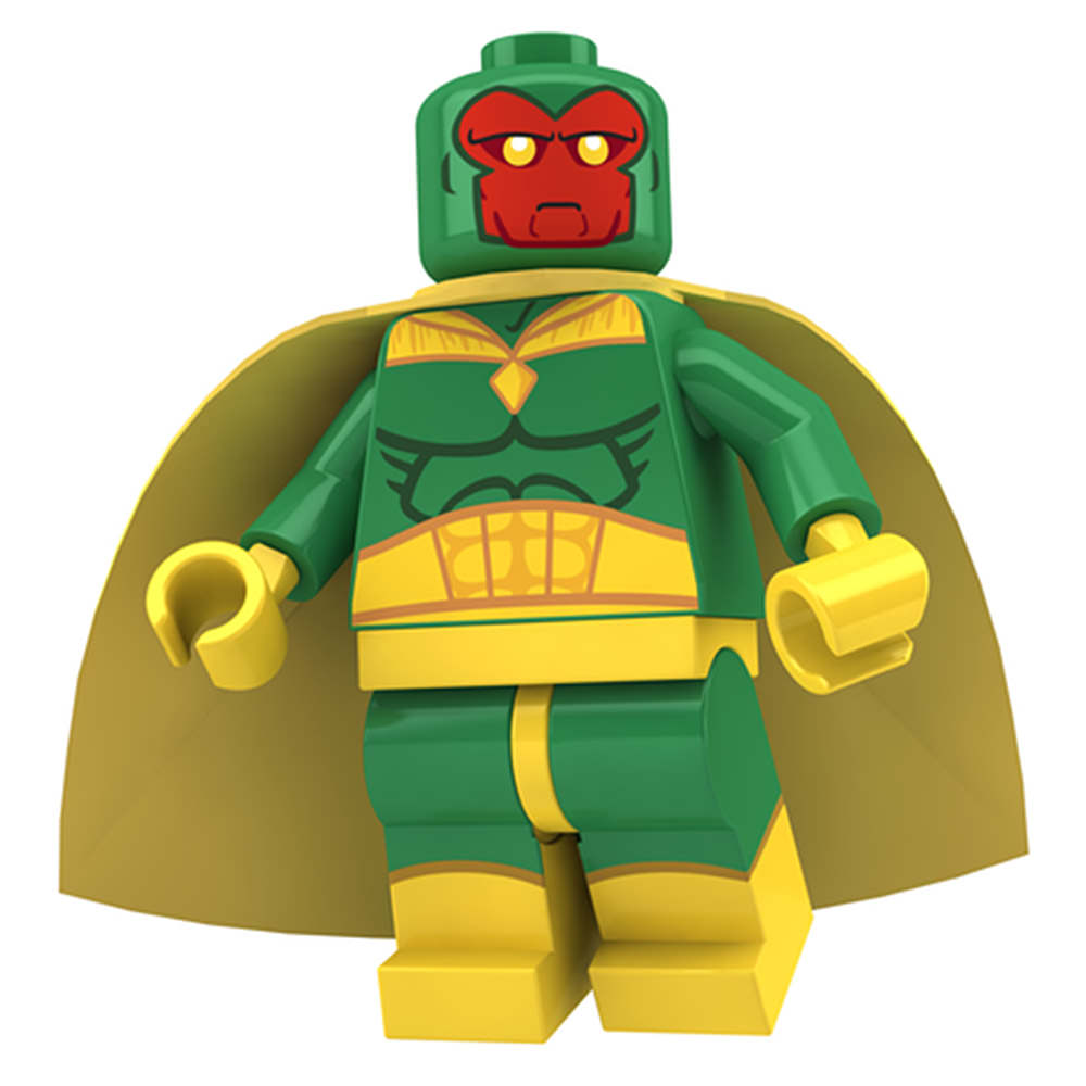 The Vision LEGO MiniFig by Concore