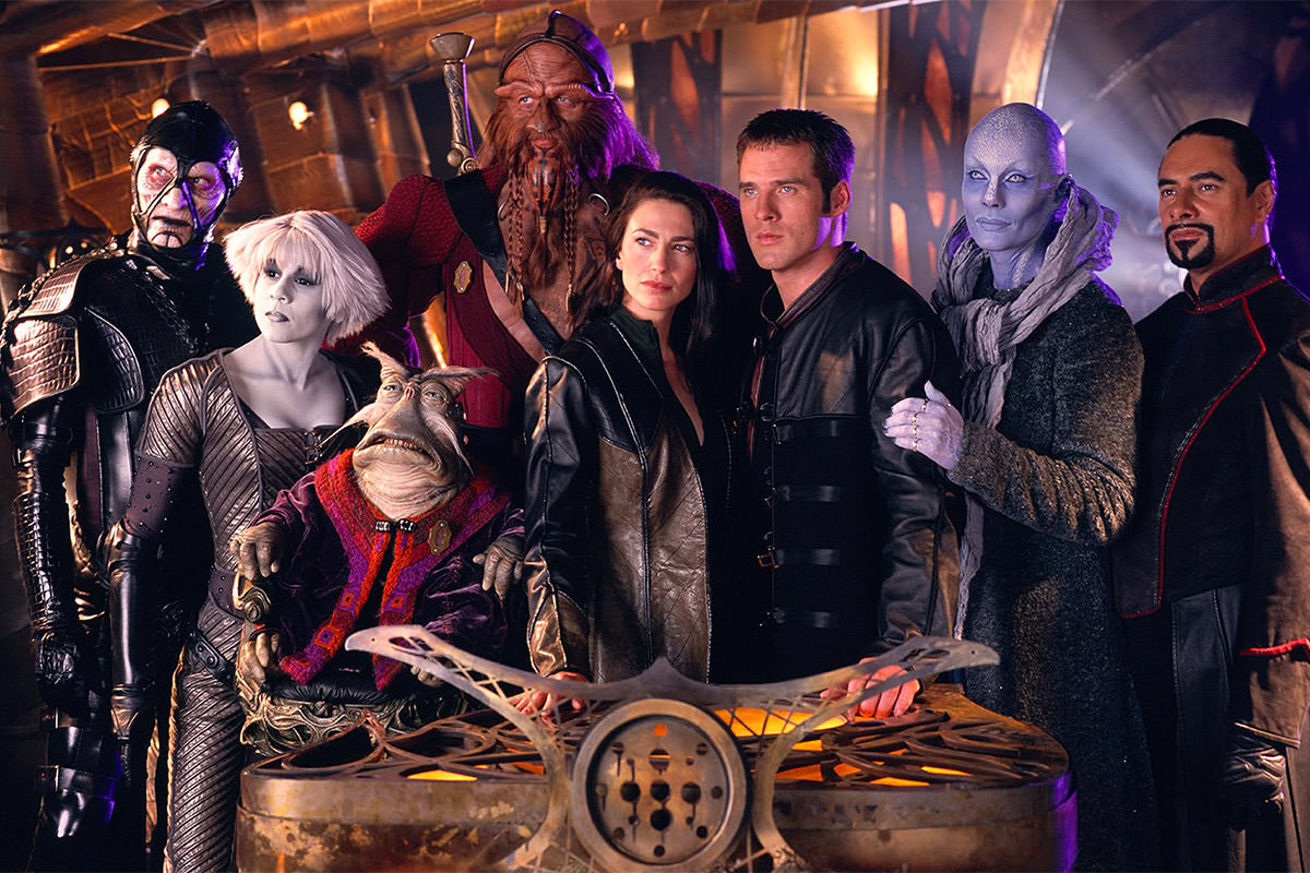 Farscape Cast!