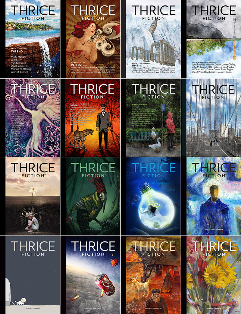 Thrice Fiction Issue No. 16!