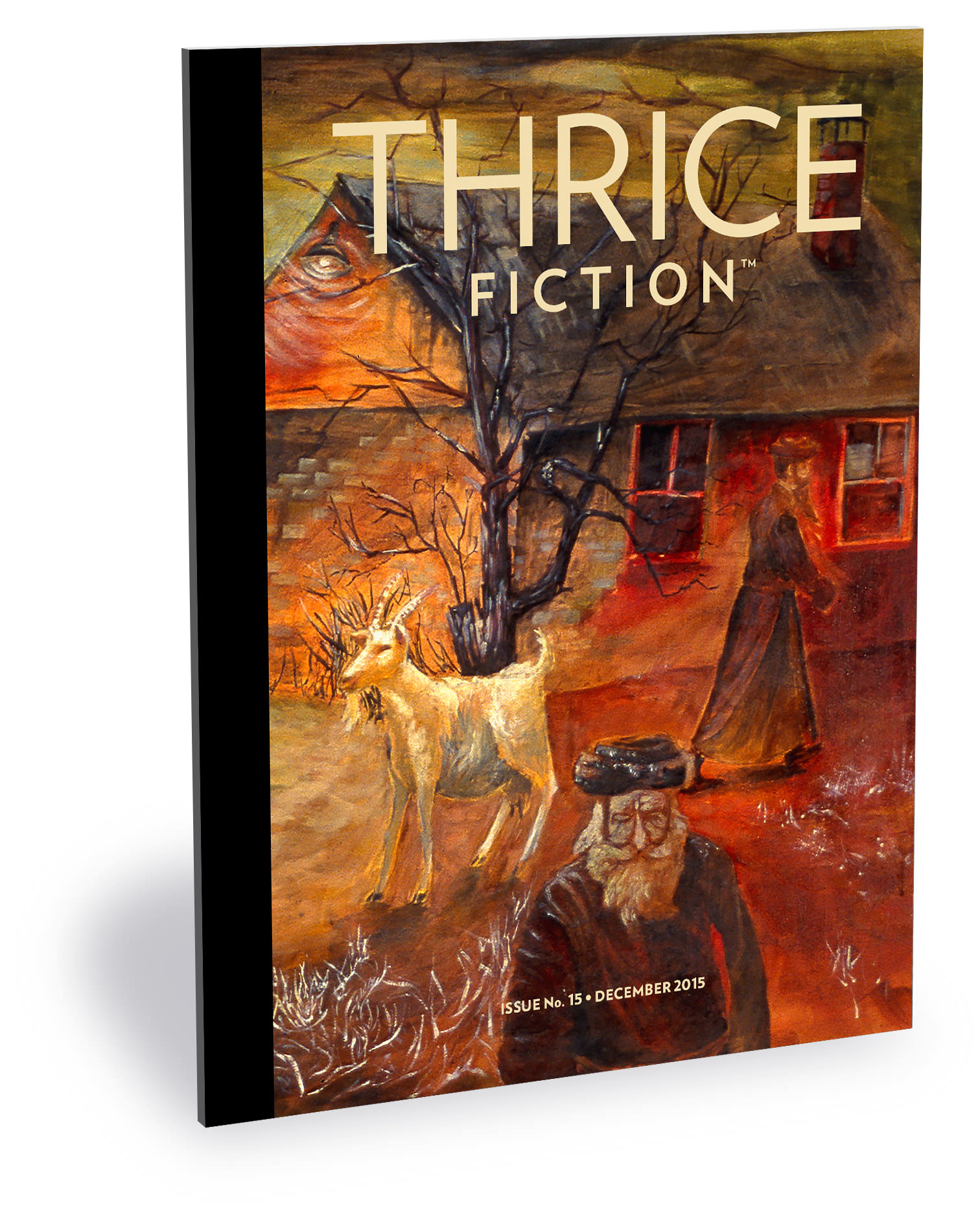 Thrice Fiction Magazine No. 15