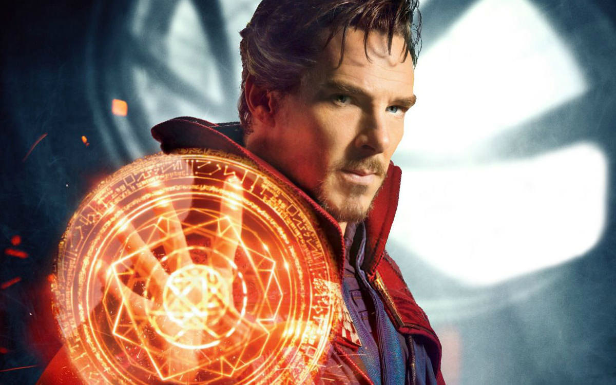 Art of Doctor Strange Book Cover.