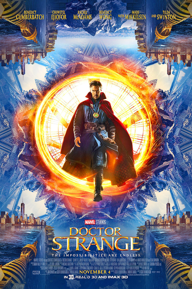 Doctor Strange Movie Poster.