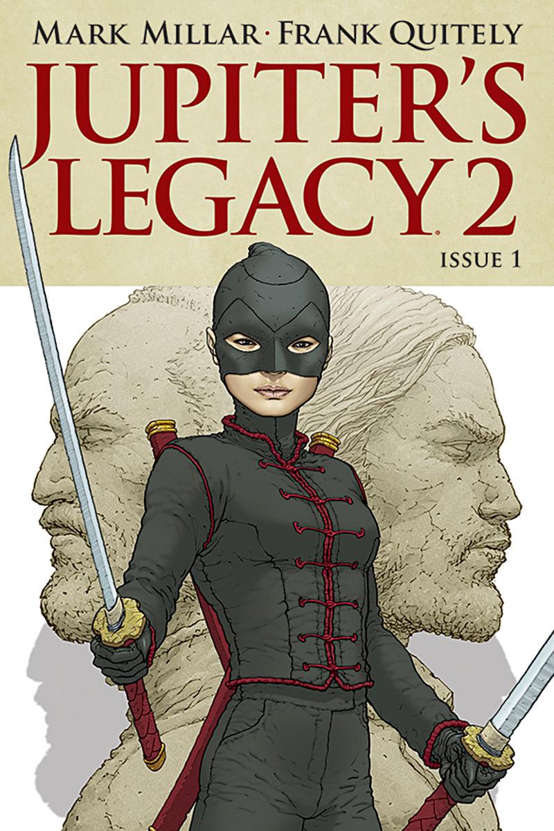 Jupiter's Legacy 2 Cover