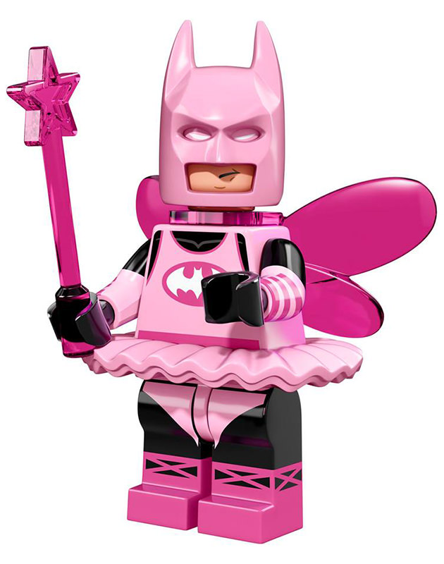 LEGO Batman Fairy Minifig.