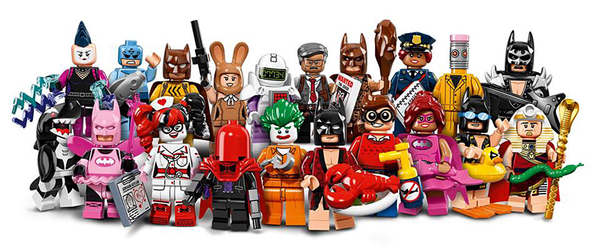 LEGO Batman Movie Minifigs.