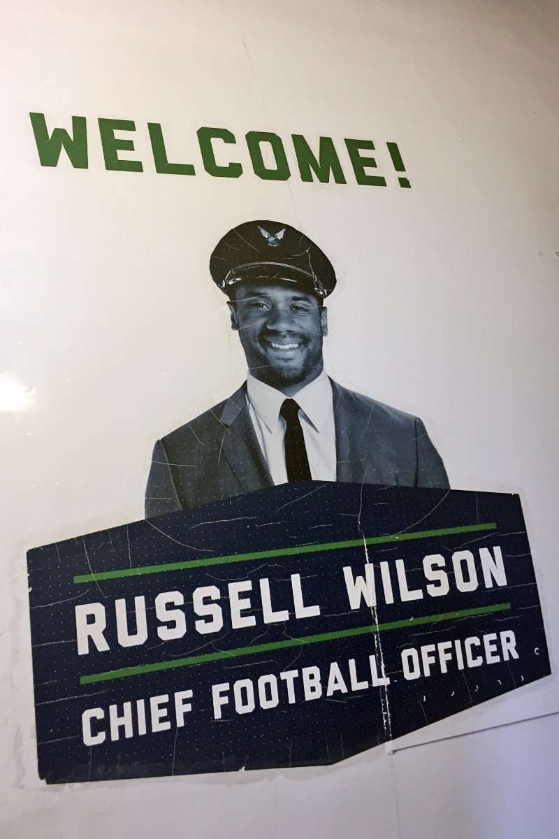 Russell Wilson Officer Alaska Airlines