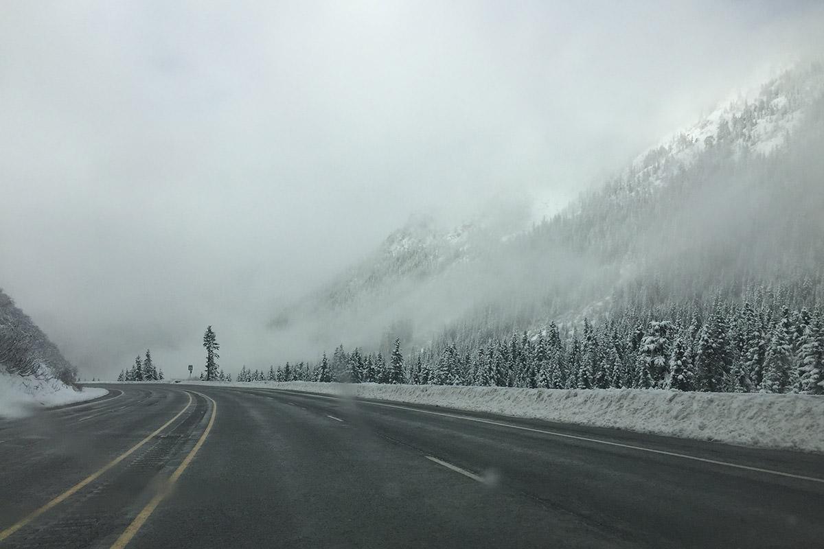 Stevens Pass Road.