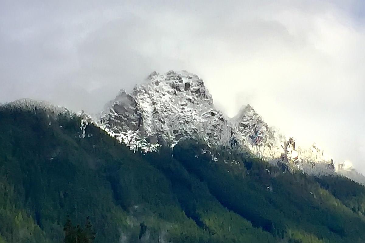Mountain Snow Line.